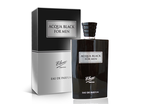 acqua black eau de parfum 100ml